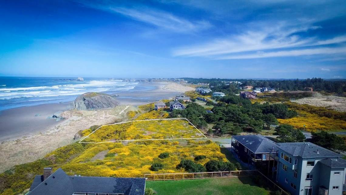 Premier Oceanfront Building Site Video Bandon Oregon